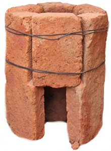 six brick rocket stove